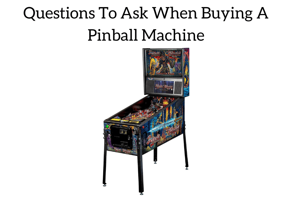 How To Buy A Used Pinball Machine
