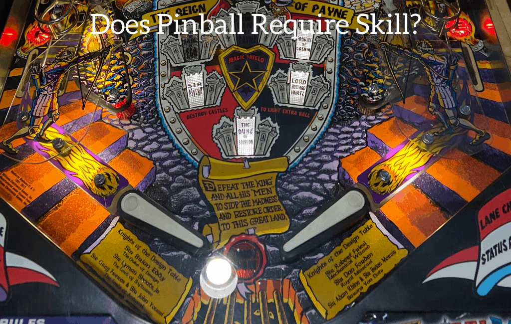 Does Pinball Require Skill?