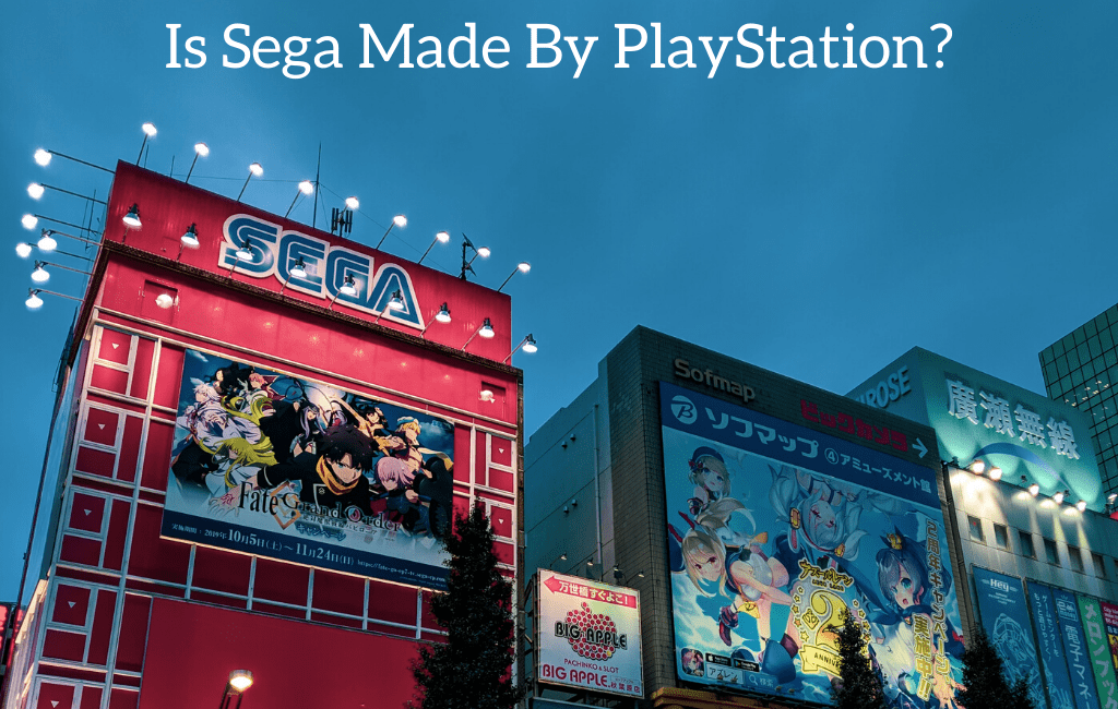 Is Sega Made By PlayStation?