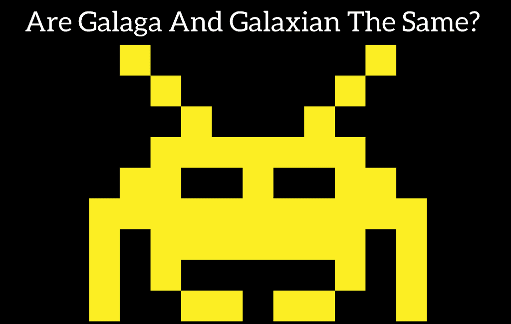 Are Galaga And Galaxian The Same?
