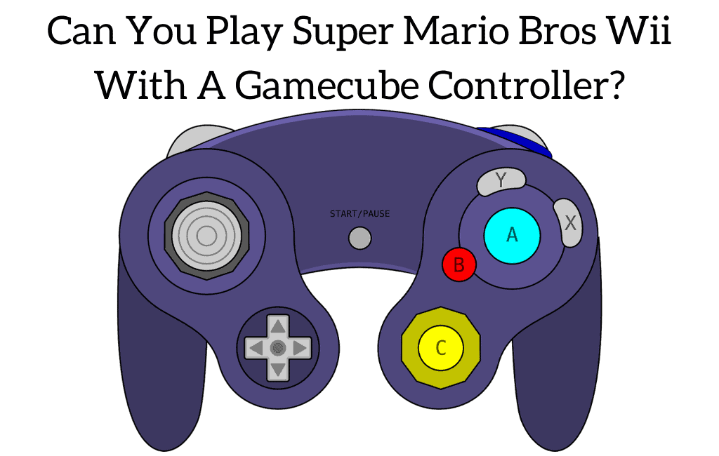 Can You Play Super Mario Bros Wii With A Gamecube Controller?