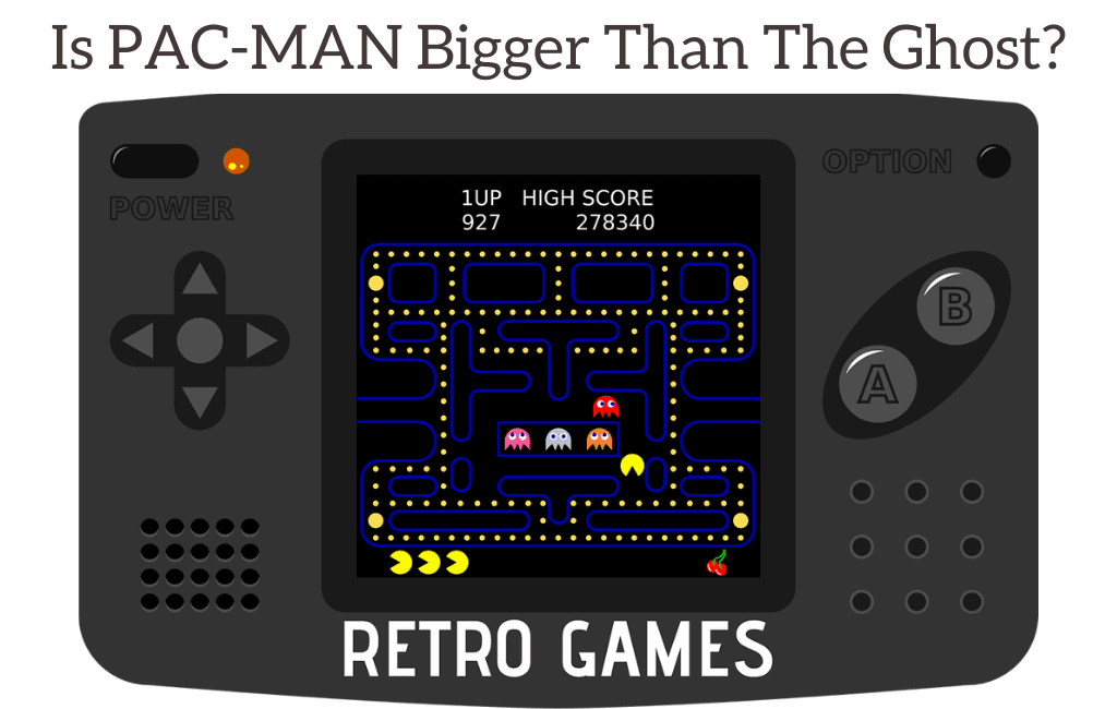 Is PAC-MAN Bigger Than The Ghost?