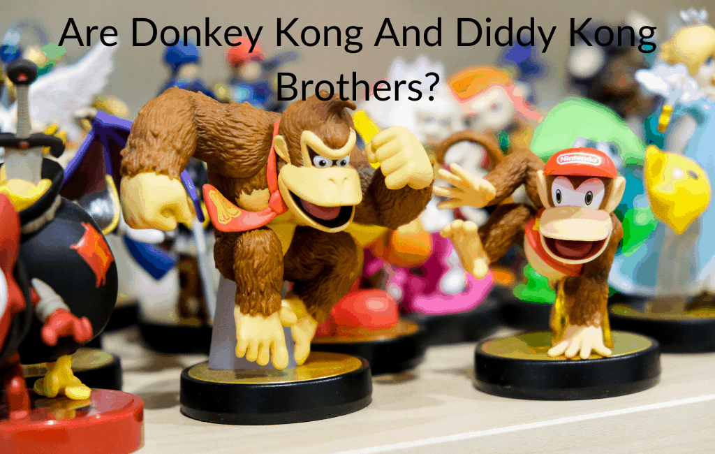 Are Donkey Kong And Diddy Kong Brothers?