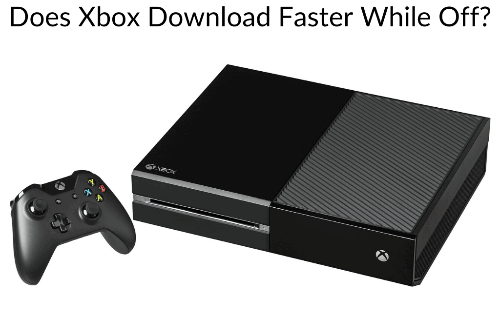 Does Xbox Download Faster While Off Retro Only