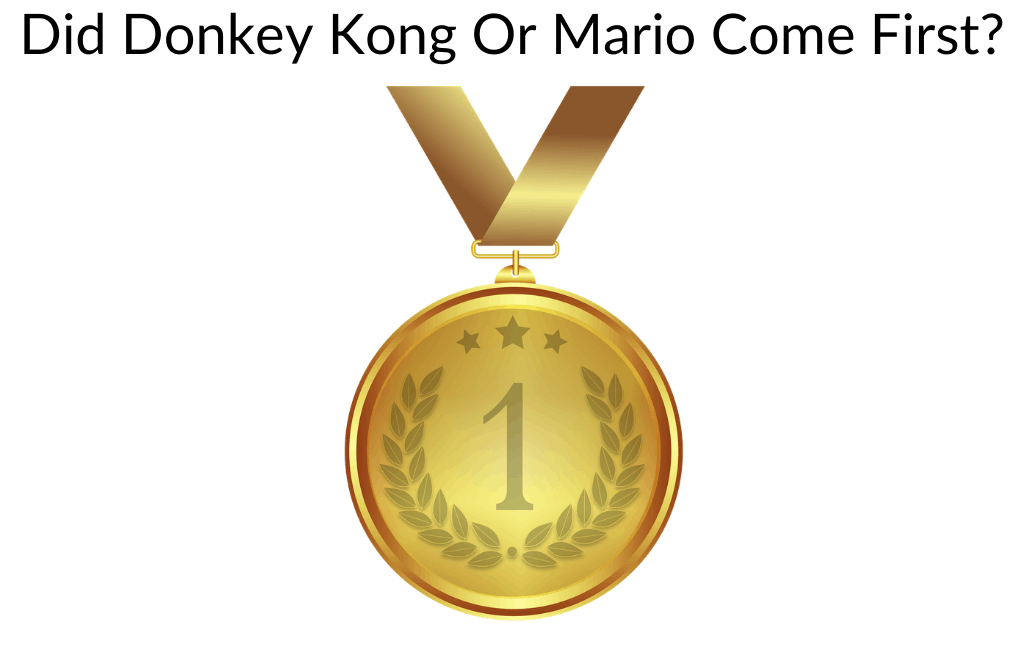 Did Donkey Kong Or Mario Come First?