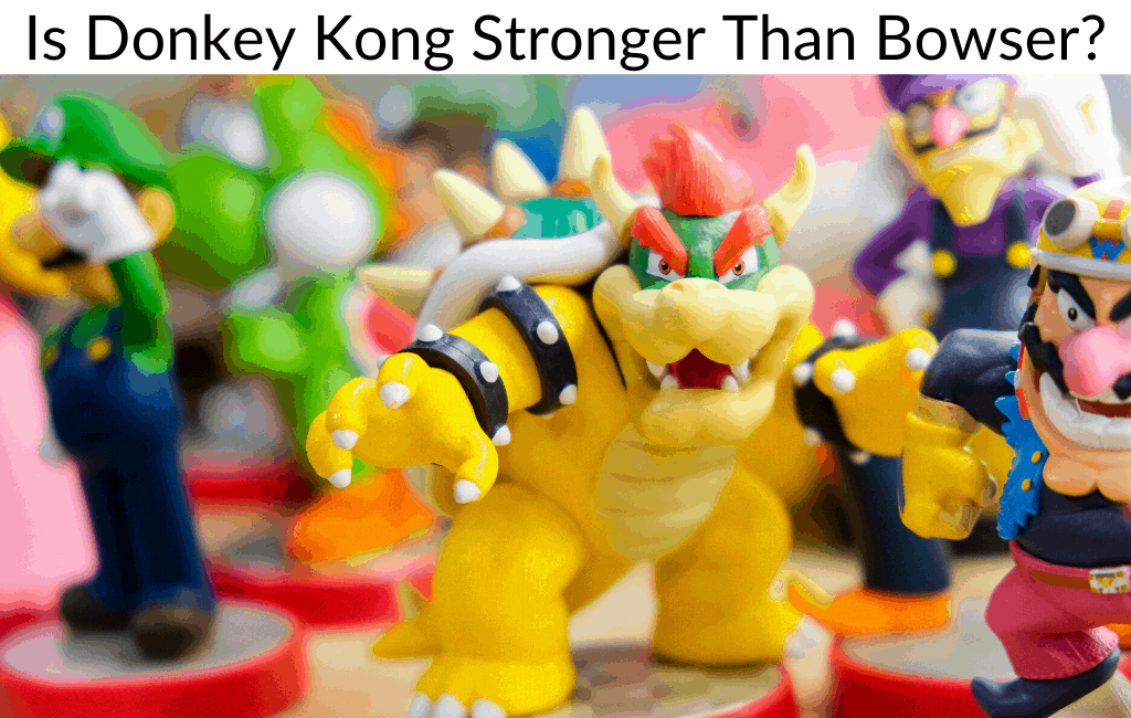 Is Donkey Kong Stronger Than Bowser?
