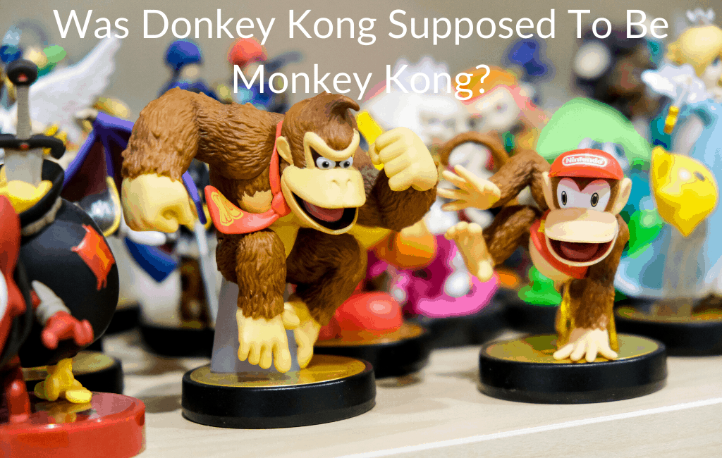 Was Donkey Kong Supposed To Be Monkey Kong?