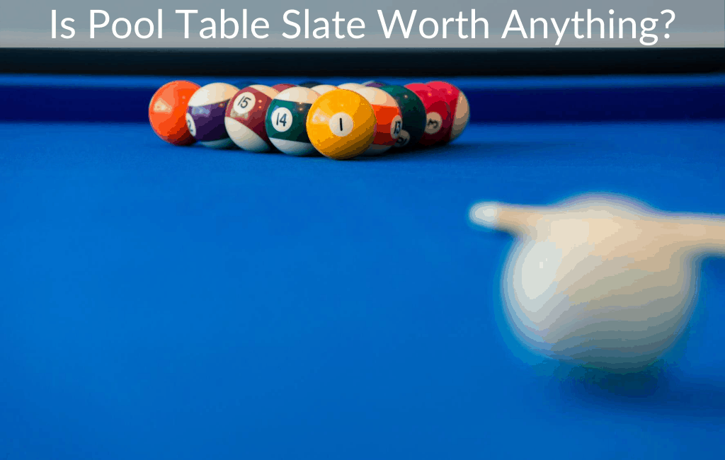 Is Pool Table Slate Worth Anything Retro Only
