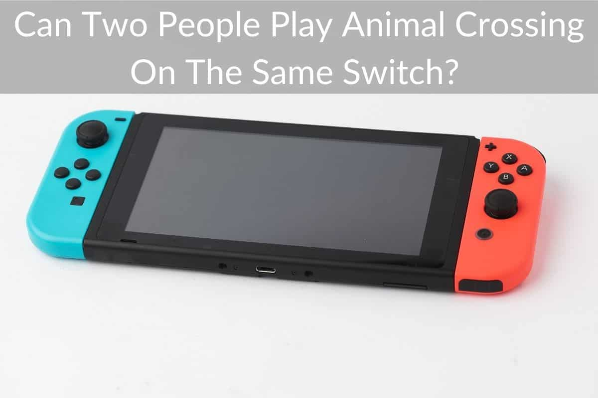 Can Two People Play Animal Crossing On The Same Switch?