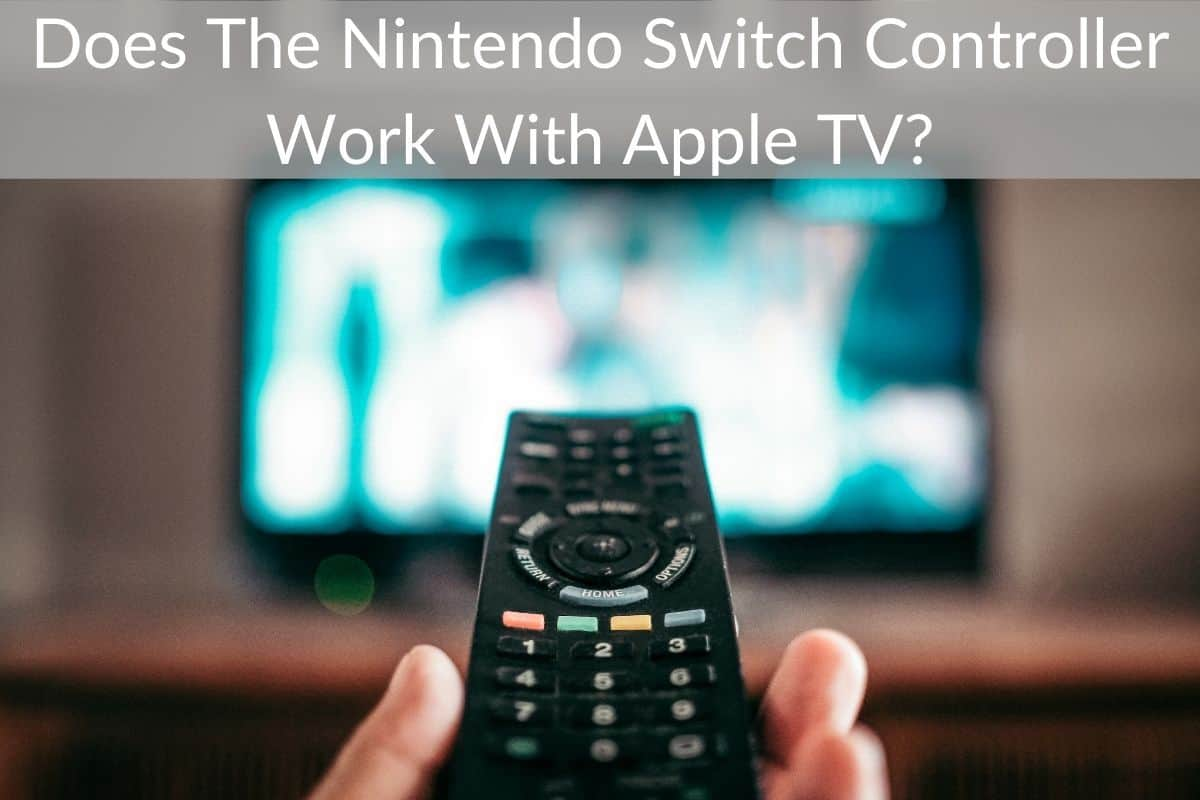 Does The Nintendo Switch Controller Work With Apple TV?